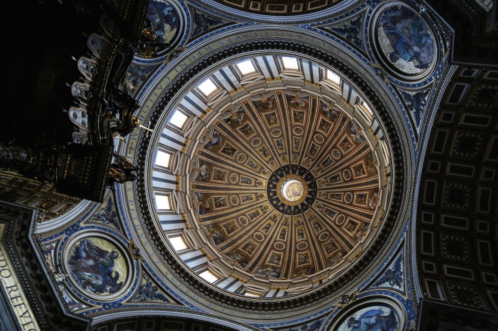 Kuppel im Petersdom