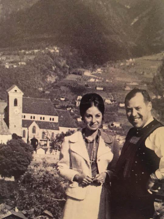 Das junge Ehepaar Mair