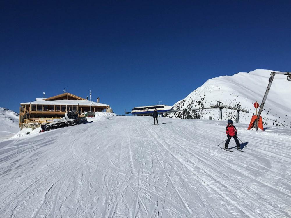 Ideal zum Skifahren mit Kindern