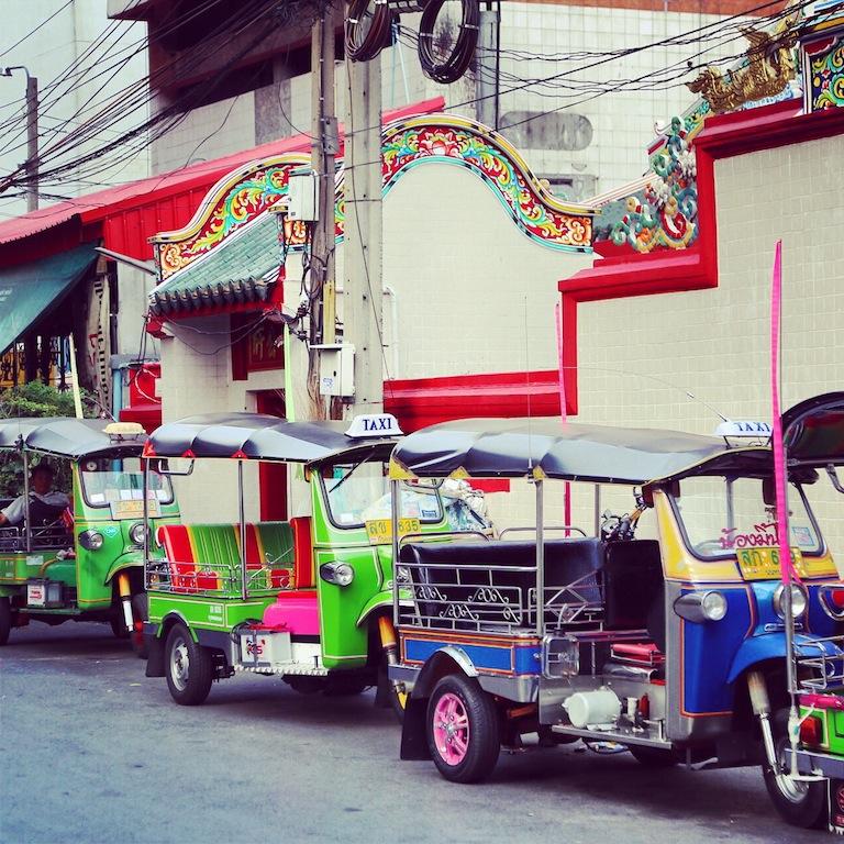 Bangkok ist bunt