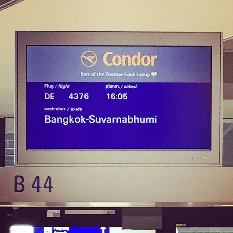 Auf nach Bangkok...