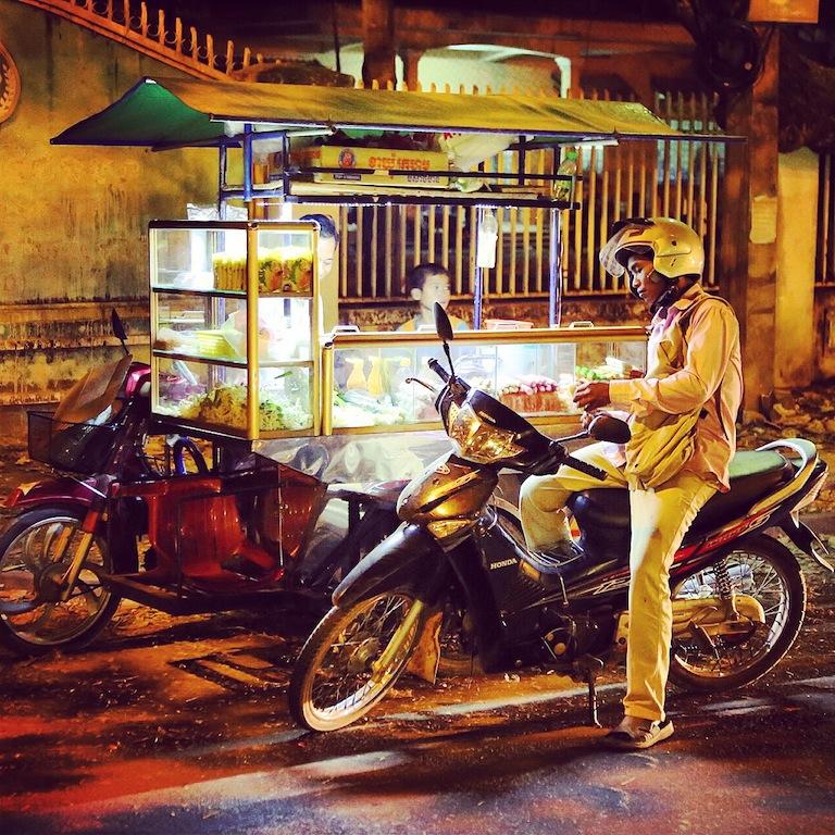 Nachts in Siem Reap