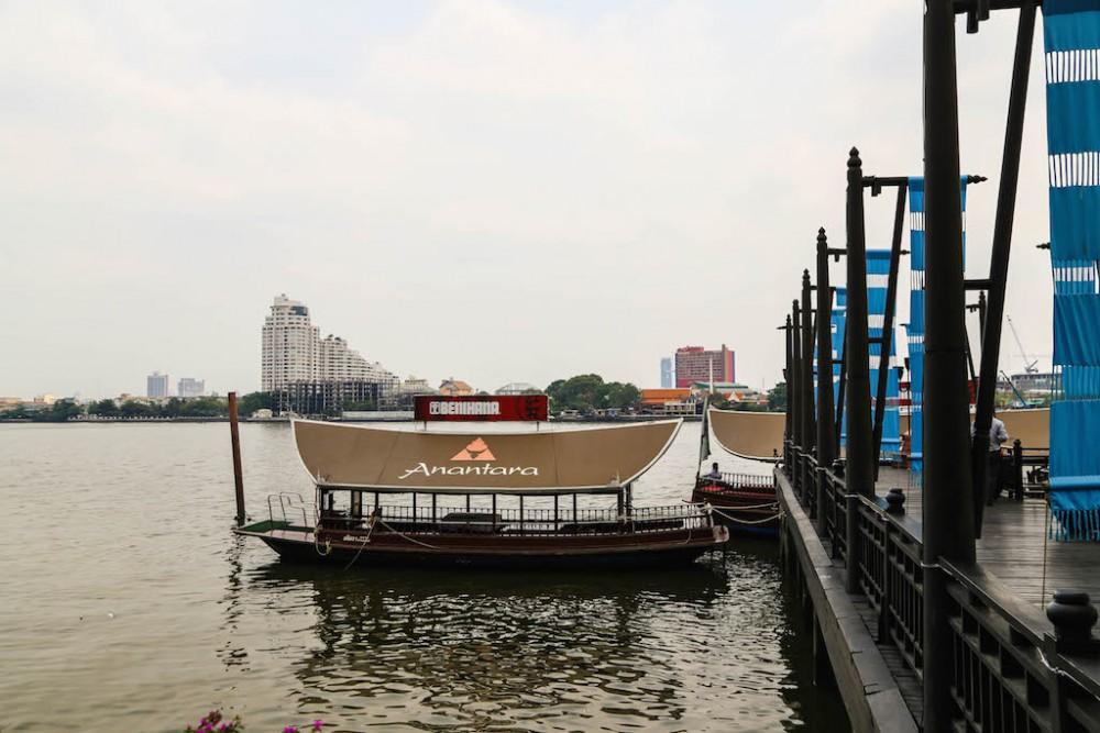 Das Shuttleboot wartet