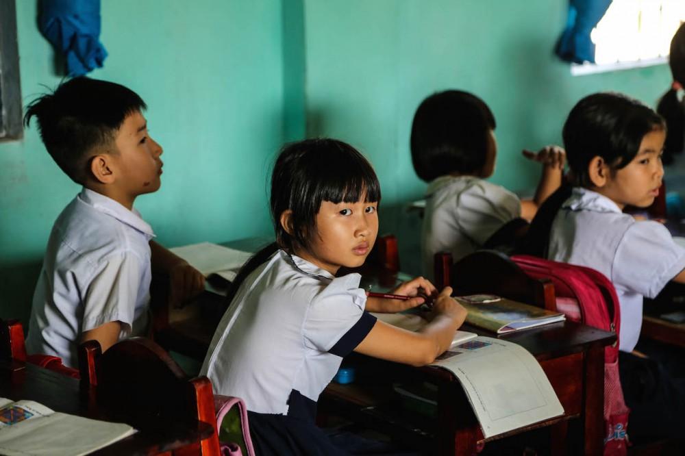Für die Kinder ist Bildung der Weg in die Zukunft