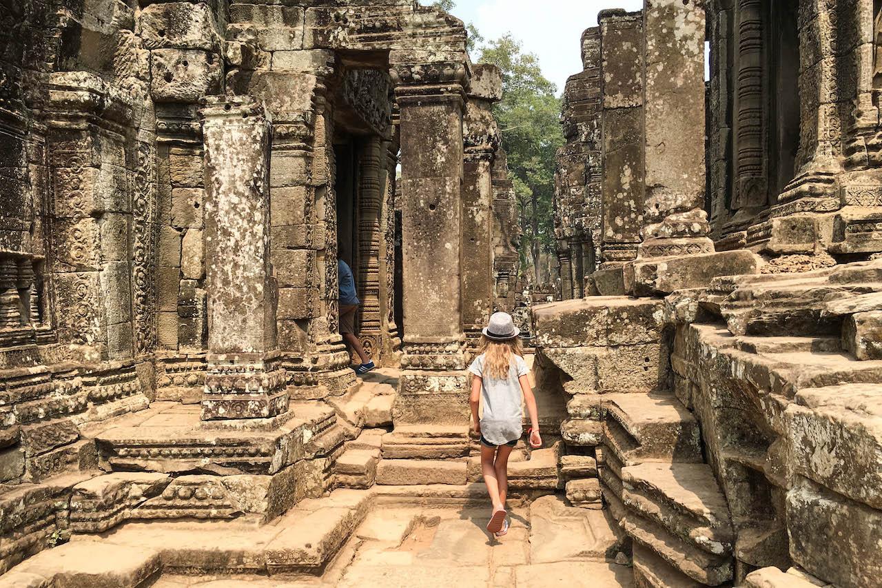 Fernreisen mit Kindern Kambodscha
